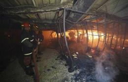 Cháy nhà máy may ở Bangladesh, 9 người thiệt mạng