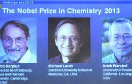 Công bố giải Nobel Hóa học 2013