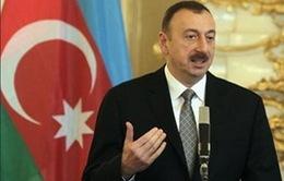 Tổng thống Azerbaijan tái đắc cử nhiệm kỳ 3