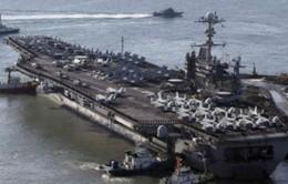 Triều Tiên đe dọa tấn công hàng không mẫu hạm Mỹ