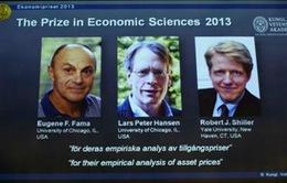 Công bố giải Nobel Kinh tế 2013