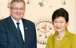 Hàn Quốc, Ba Lan ký Hiệp ước hợp tác phòng thủ