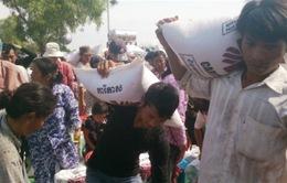 Lũ lụt gây thiệt hại lớn cho Campuchia