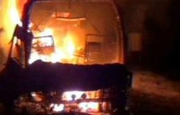 Ấn Độ: Cháy xe buýt, 42 người thiệt mạng