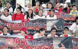 Thái Lan: Biểu tình lớn tại Thủ đô Bangkok