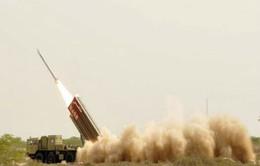 Pakistan thử tên lửa mang đầu đạn hạt nhân