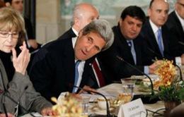 Ngoại trưởng Mỹ tới Israel thúc đẩy hòa bình Trung Đông