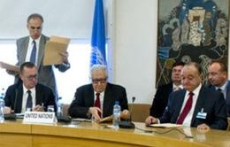Hoãn Hội nghị Geneva 2 về Syria