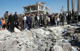 Syria: Nổ bom xe, 8 sĩ quan tình báo thiệt mạng