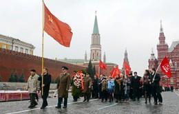 Diễu hành kỷ niệm 96 năm Cách mạng Tháng Mười Nga