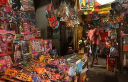 Indonesia quyết loại bỏ đồ chơi nguy hiểm, kém chất lượng