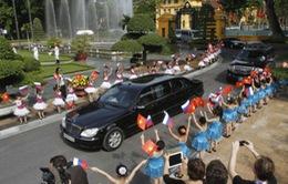 Chuyến thăm Việt Nam của Tổng thống Nga đậm nét trên báo chí thế giới
