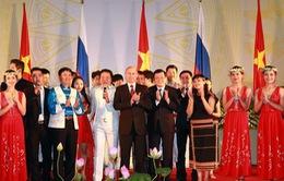 Khai mạc những ngày văn hóa Nga tại Việt Nam