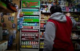 New York siết chặt hoạt động buôn bán thuốc lá