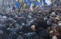 Ukraine: Biểu tình phản đối quyết định từ bỏ Hiệp ước với EU