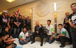 Thái Lan ra lệnh bắt thủ lĩnh biểu tình