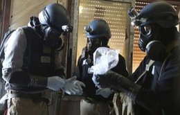 Mỹ nhận tiêu hủy vũ khí hóa học Syria