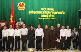 Đồng chí Lê Hồng Anh tiếp xúc cử tri tại Cần Thơ