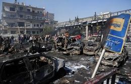 Syria: Đánh bom liều chết gây nhiều thương vong