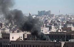 Trụ sở Bộ Quốc phòng Yemen bị đánh bom