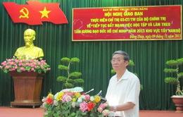 """""""Tiếp tục đẩy mạnh việc học tập và làm theo tấm gương đạo đức Hồ Chí Minh"""" tại Đồng Tháp"""