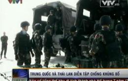 Trung Quốc và Thái Lan diễn tập chống khủng bố