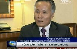 Thứ trưởng Trần Quốc Khánh nói về vòng đàm phán TPP tại Singapore