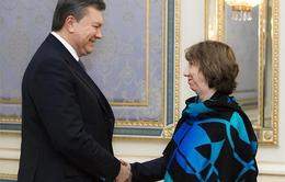 Ukraine vẫn có ý định ký thỏa thuận với EU