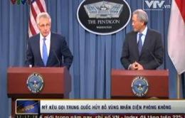 Mỹ kêu gọi Trung Quốc hủy bỏ vùng nhận diện phòng không