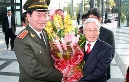 Tổng Bí thư dự hội nghị công an toàn quốc