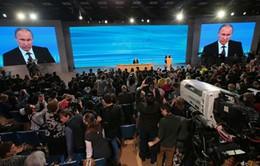 Tổng thống Putin họp báo cuối năm