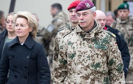 Tân Bộ trưởng Quốc phòng Đức thăm Afghanistan