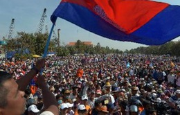 Người dân Campuchia bức xúc với cuộc biểu tình của phe đối lập