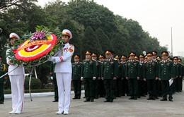 Quân ủy Trung ương dâng hương tưởng niệm Đại tướng Nguyễn Chí Thanh