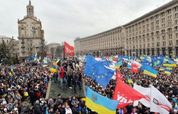 Ukraine: Biểu tình có dấu hiệu gia tăng trở lại