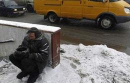 Chương trình năm mới giúp đỡ người vô gia cư ở Nga