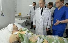 Tổng thống Nga thăm thành phố Volgograd