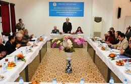 Chủ tịch MTTQ Việt Nam làm việc với Tổng hội y học Việt Nam