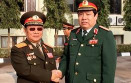 Bộ trưởng Quốc phòng Phùng Quang Thanh thăm Lào