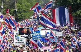 Thái Lan: Biểu tình tác động xấu tới nền kinh tế