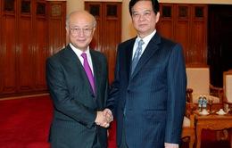 Thủ tướng Chính phủ Nguyễn Tấn Dũng tiếp Tổng Giám đốc IAEA