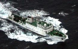 Tàu và máy bay Trung Quốc vào lãnh hải Nhật Bản