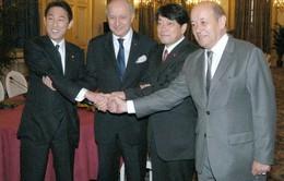 Nhật Bản – Pháp hội đàm 2+2 về an ninh