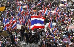 Thái Lan: Lực lượng đối lập tiếp tục biểu tình