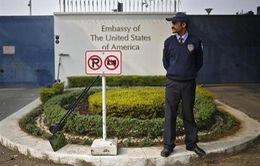 Ấn Độ thắt chặt các hoạt động thương mại của Đại sứ quán Mỹ