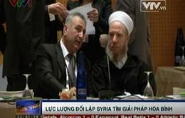 Lực lượng đối lập Syria tìm giải pháp hòa bình