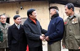 Chủ tịch nước thăm và kiểm tra tuyến biên giới Lạng Sơn