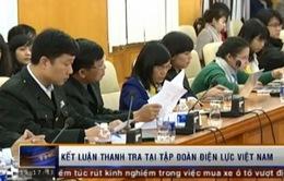 Công bố Kết luận thanh tra tại Tập đoàn Điện lực Việt Nam