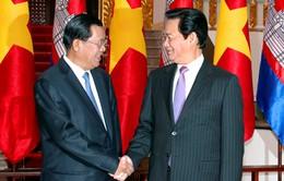 Thủ tướng Nguyễn Tấn Dũng thăm Campuchia từ ngày 12/1