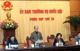 Phiên họp 24 Ủy ban Thường vụ Quốc hội